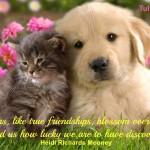 """Flowers like friendships blossom"""