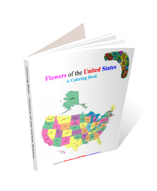 Coloring Book - Flowers of the United States